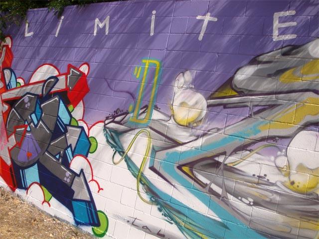 #graffiti cielo es limite #streetart