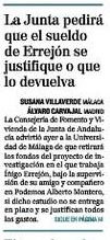 Errejón 1.825 € mes universidad de Málaga