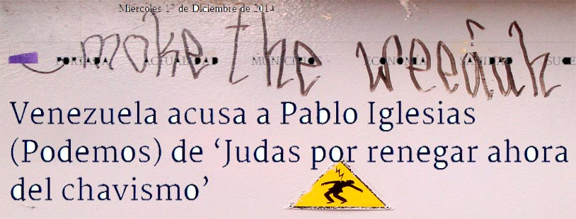 Maduro Vs Judas Iglesias torre inteligente de Madrid